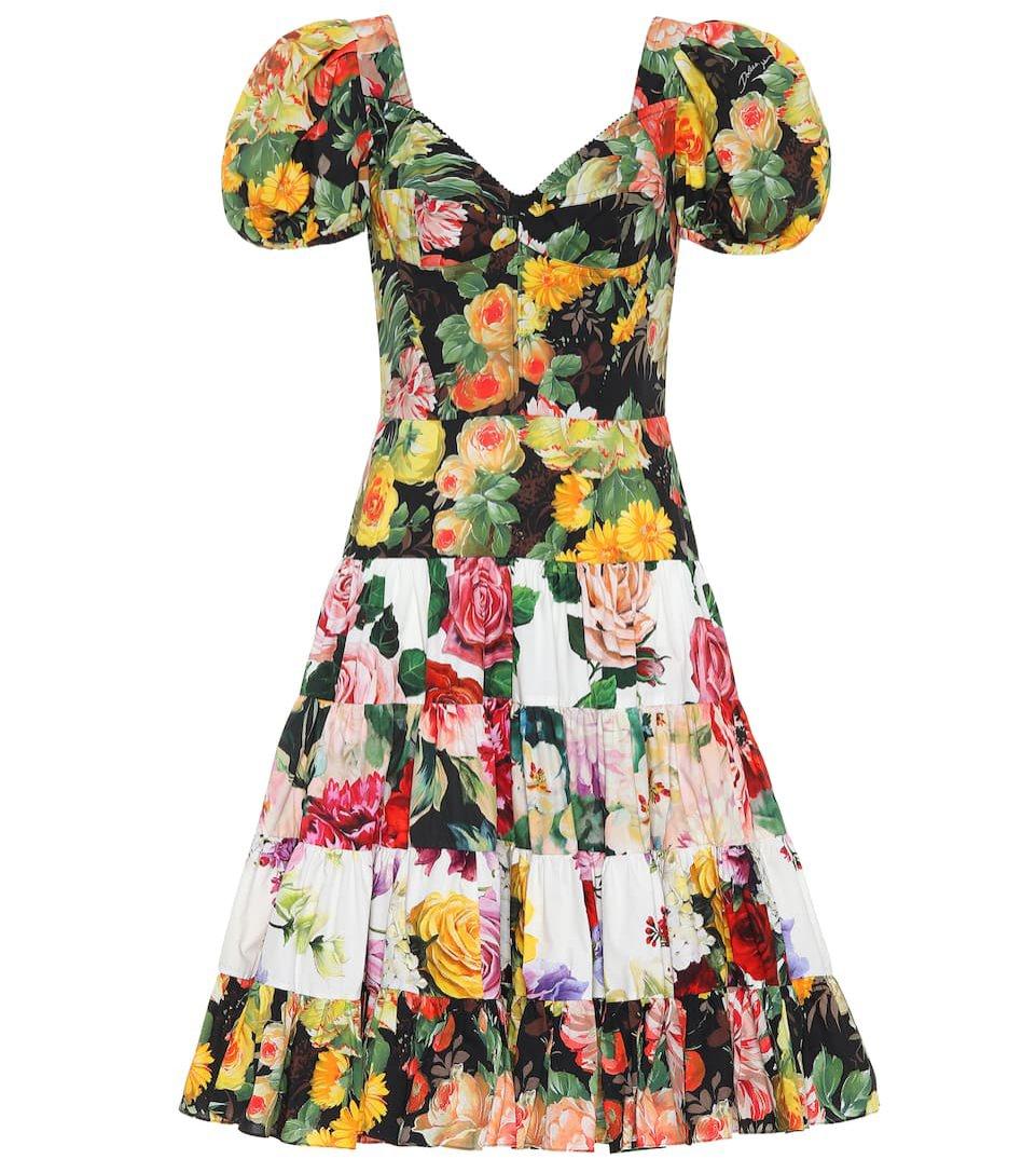 Sukienka w kwiaty Dolce & Gabbana / Mytheresa, 1550 eu