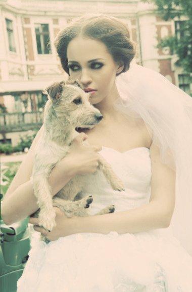 Ania Bałon w sesji sukien ślubnych