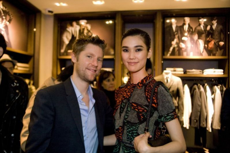Christopher Bailey i Tao na Vogue Fashion's Night Out