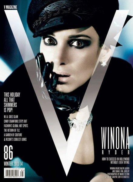 Winona Ryder dla V Magazine