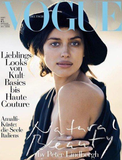 Irina Shayk na okładce Vogue Germany