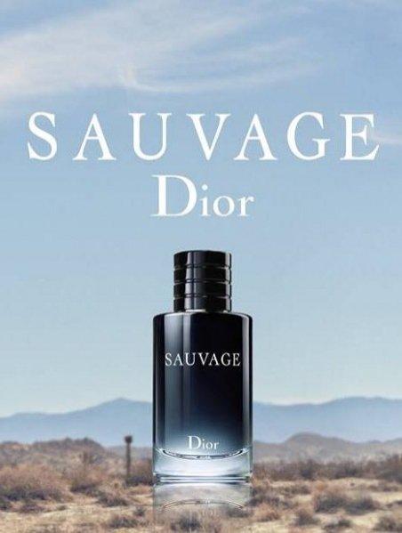 Zapowiedź kampanii Dior Sauvage z Johnny Deppem