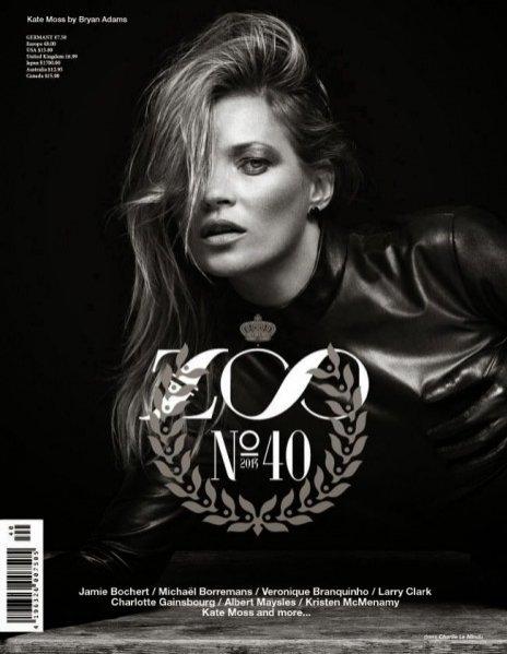 Kate Moss dla Zoo Magazine jesień 2013