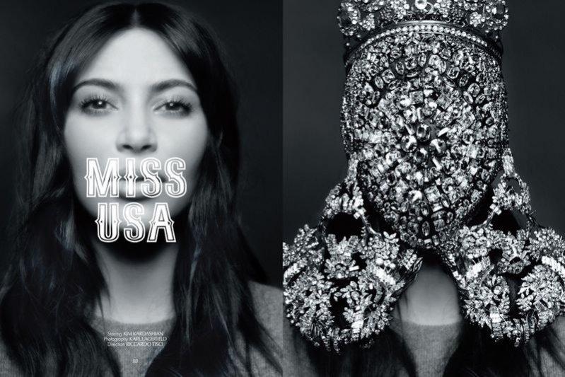 Kim Kardashian w CR Fashion Book
