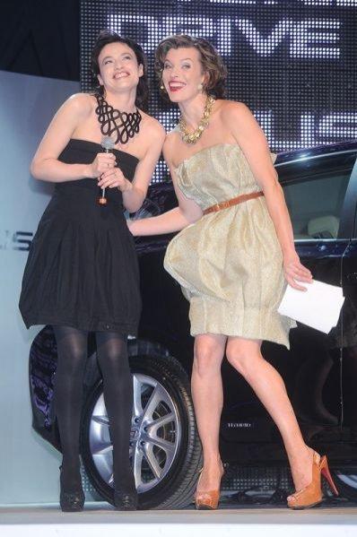 Magdalena Różdżka i Milla Jovovich