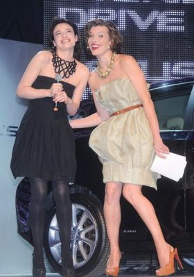 MILLA JOVOVICH GWIAZDĄ LEXUS FASHION NIGHT 6
