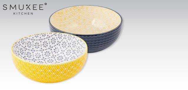 Miski ceramiczne Biedronka (16,99 zł)