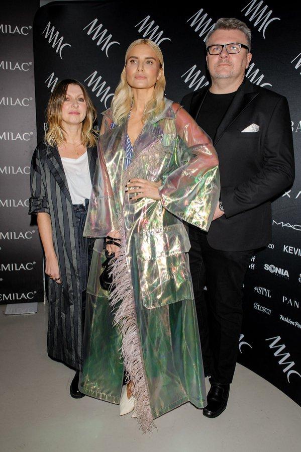 Ilona Majer, Joanna Horodyńska, Rafał Michalak na pokazie MMC wiosna lato 2018