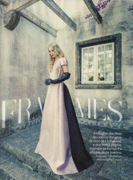 Natalia Uliasz dla Vogue Portugal, wrzesień 2013
