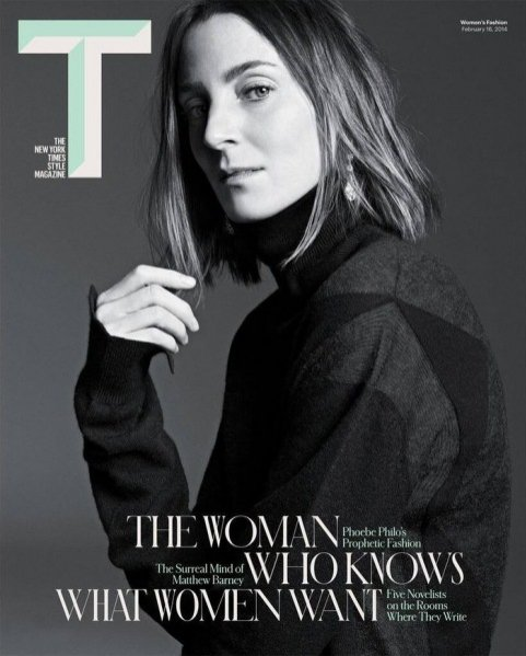 Phoebe Philo na okładce The New York Times Style Magazine