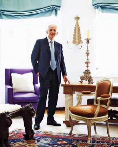 Ranking Best Dressed Vanity Fair 2015 - Robert Couturier, architekt, dekorator