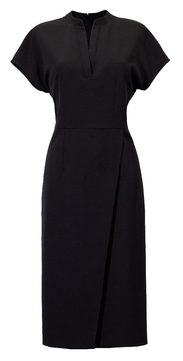 Czarna sukienka Solar (399 zł)