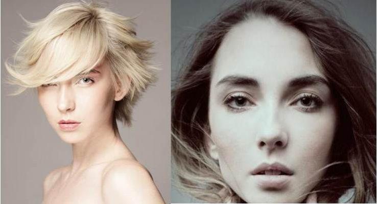 Ewa z agencji GAGA Models po i przed metamorfozą