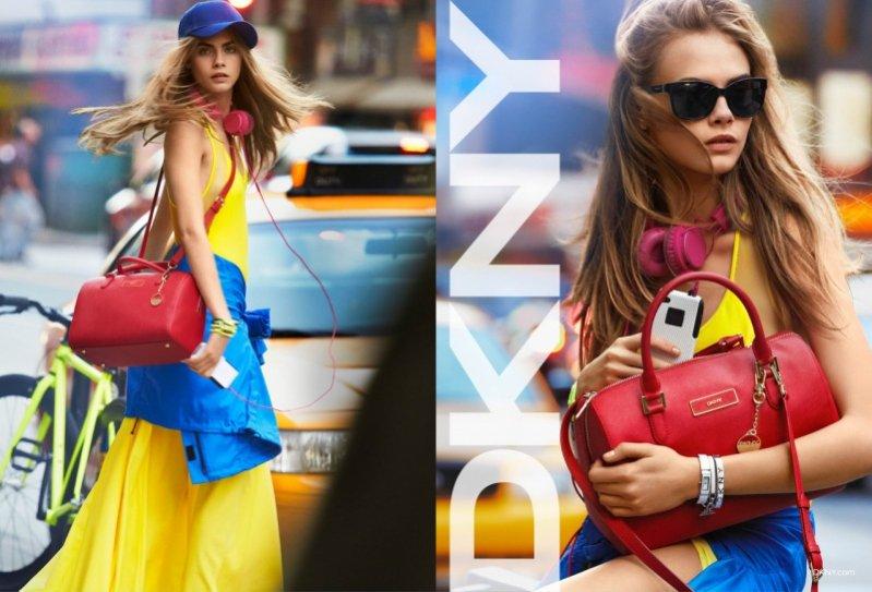 Cara Delevingne w kampanii DKNY wiosna lato 2013