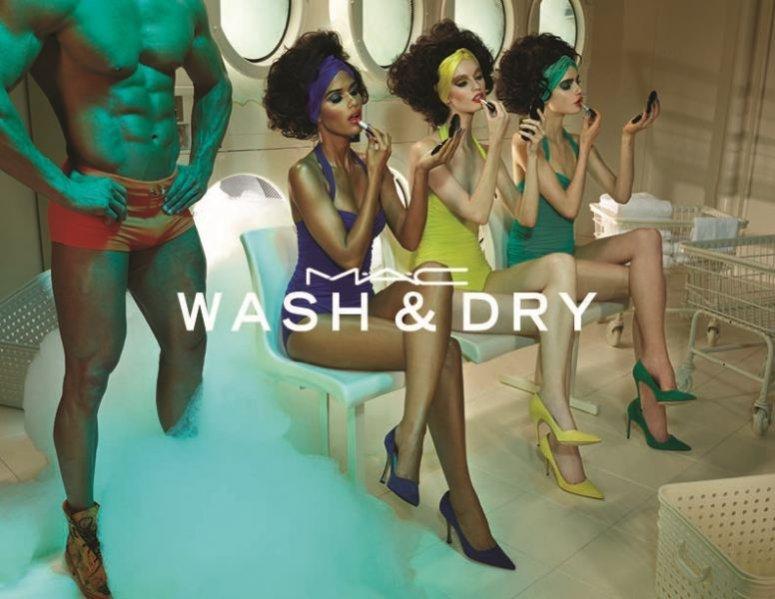 1. MAC Cosmetics - nowa linia kosmetyków Wash & Dry lato 2015