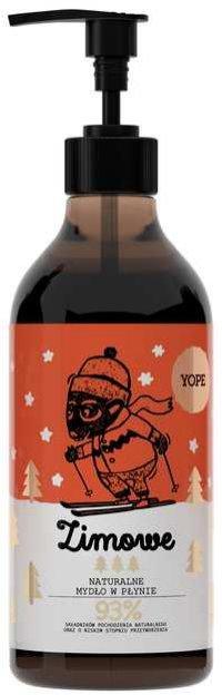 Zimowe mydło w płynie na bazie czekolady i cynamonu, Yope, 16 pln