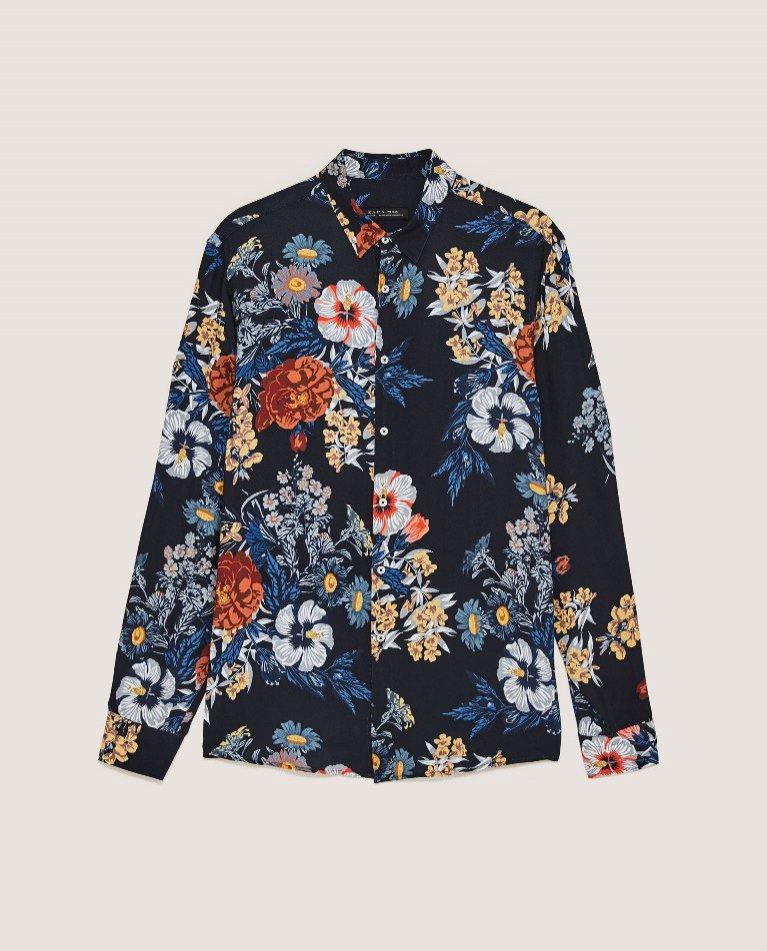 Koszula w kwiaty Zara (129 zl)