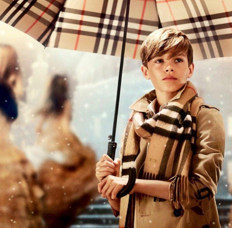 Kampanie świąteczne - Burberry