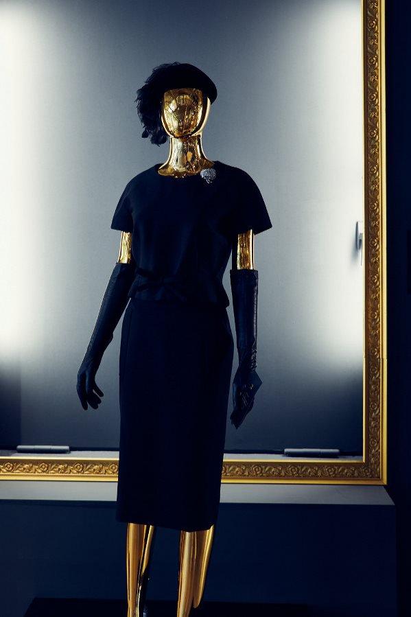 Komplet, dom mody Dior/YSL, 1959
