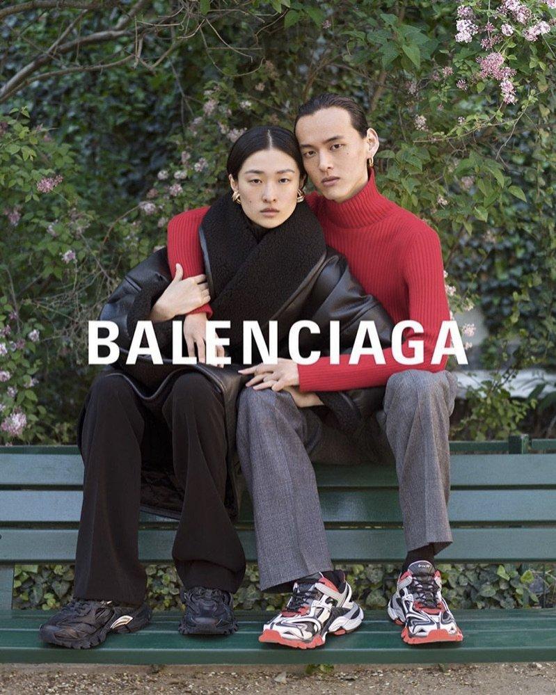 Balenciaga - kampania, trendy jesień zima 2019/20