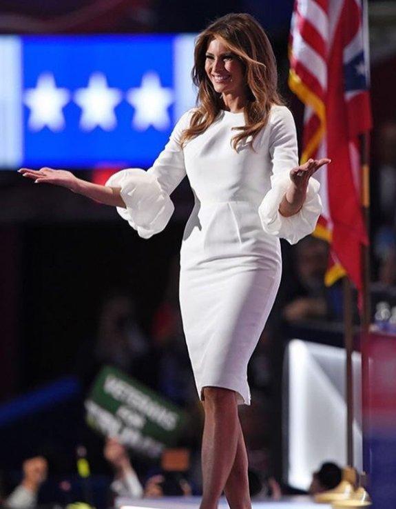 Melania Trump - stylizacje