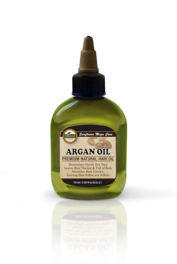 Naturalny olejek arganowy do włosów i ciała, Di Feel (ok. 25 pln/75 ml)