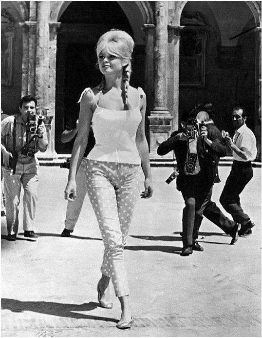 Baleriny w historii mody: Bardot