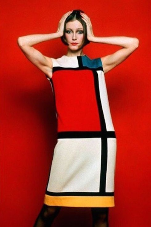 Yves Saint Laurent - kultowa sukienka