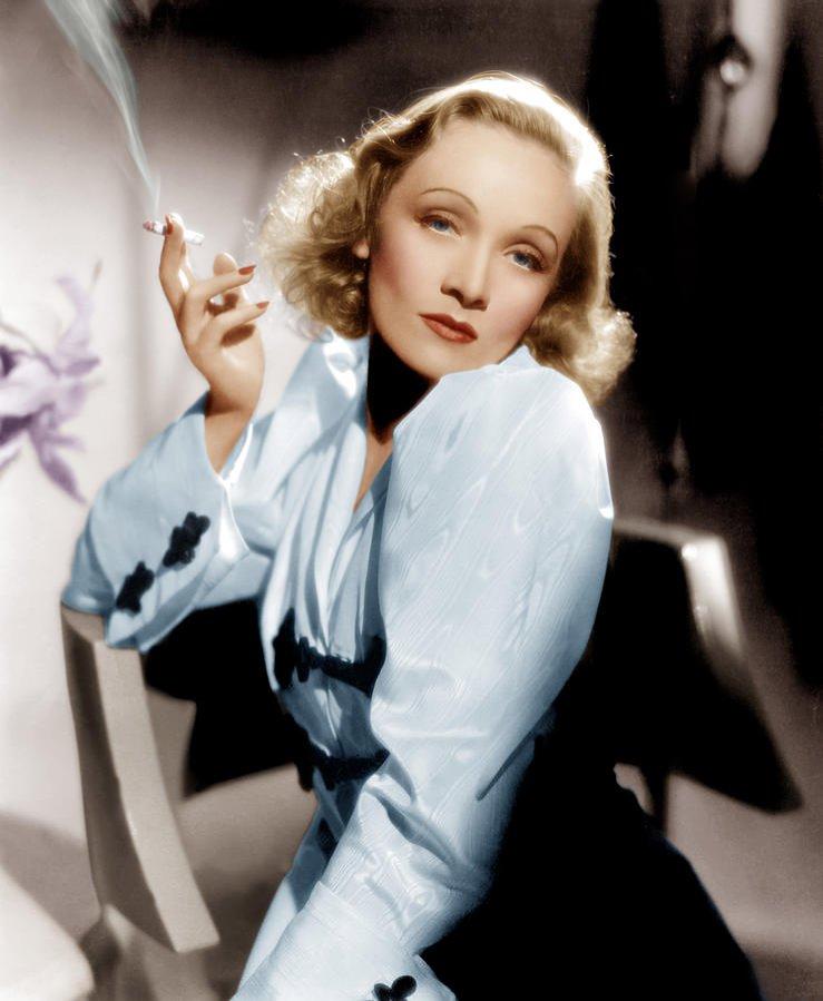 1. Marlene Dietrich