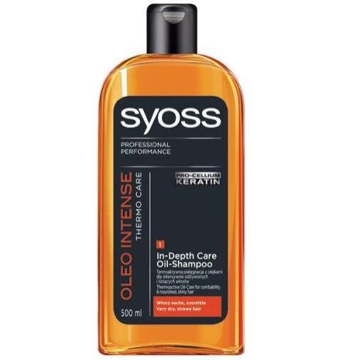 Szampon SYOSS Oleo Intense Thermo Care - około 15 PLN-