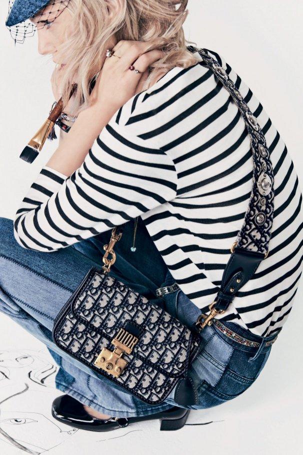 Dior wiosna lato 2018 - kampania reklamowa/modelka: Sasha Pivovarova/zdjęcia: Patrick Demarchelier (1)