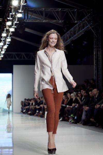 Pokaz kolekcji Łukasza Jemioła na sezon wiosna lato 2012 podczas Fashion Week Poland