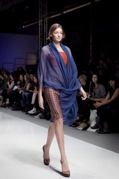 Relacja z pokazu kolekcji Navaho na sezon wiosna lato 2012 marki Blessus podczas Fashion Week Poland