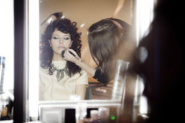 Backstage sesji zdjęciowej akcji Kupuję u polskich projektantów - Ramona Rey