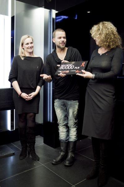 Michał Piróg wspiera akcję marki MAC