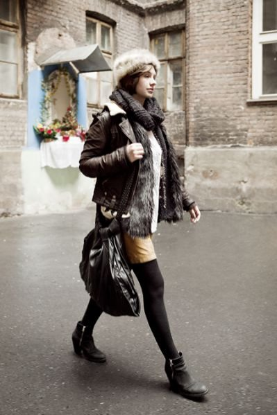 Moda uliczna - Sophie Kula