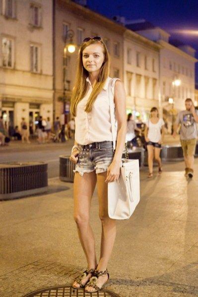 Moda uliczna w Warszawie