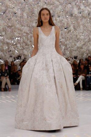 1. Kolekcja Dior Haute Couture jesień zima 2014/ 2015