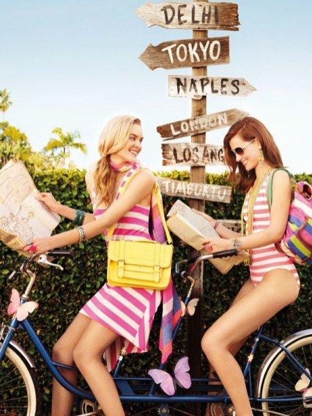 kampania Accessorize wiosna lato 2012