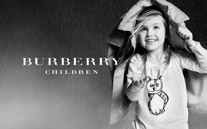 Kampania dziecięcej kolekcji Burberry na sezon jesień zima 2012/13