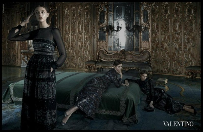 kampania Valentino jesień zima 2012/2013