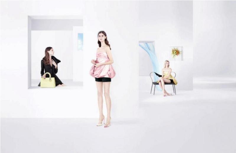 kampania Dior wiosna lato 2013