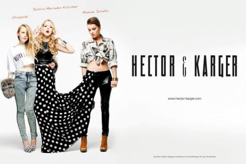 Kampania Hector&Karger z Alicepoint, Jessicą Mercedes Kirschner i Madame Juliettą
