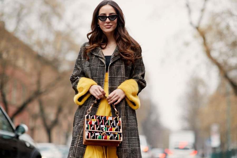 Street fashion jesień zima 2018/19: wąskie okulary Le Specs x Adam Selman