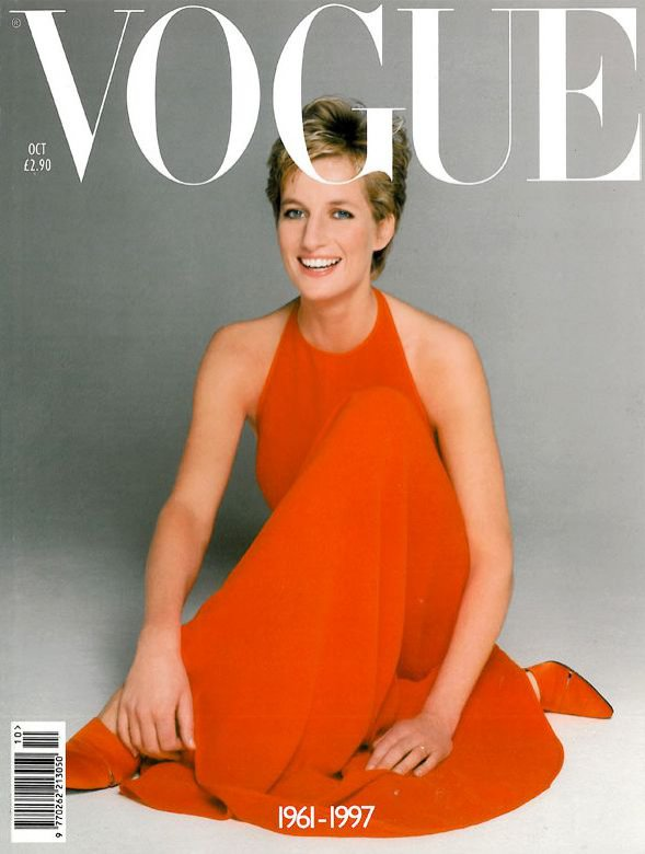 Księżna Diana na okładce Vogue US