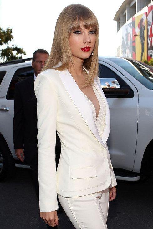 Damski smoking: Taylor Swift