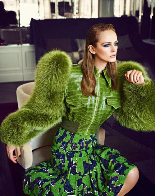 Fotograf mody Michał Radwański: sesja zdjęciowa dla Harper's Bazaar