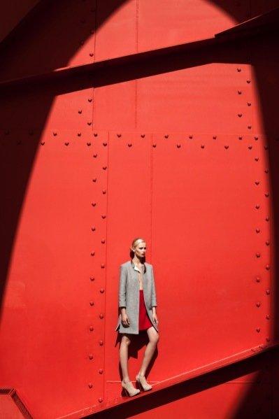 Sesja Postindustrial w jesiennej edycji Fashion Magazine