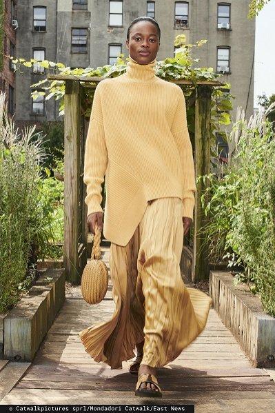 Sweter w bananowym kolorze, Michael Kors