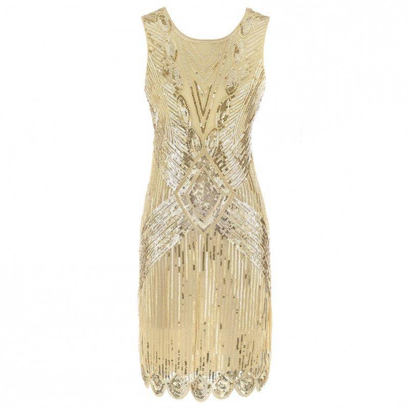 """Cekinowa sukienka vintage - 1920 (film """"Wielki Gatsby"""